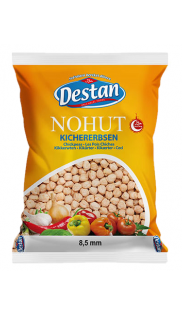 DESTAN NOHUT KUCUK 8.5 MM 800 GR (pois-chiches)