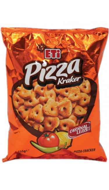 ETI PIZZA KRAKER 95 GR (cracker goût pizza) yeni