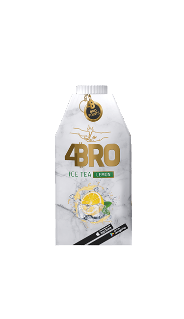 4BRO ICE TEA LIMON