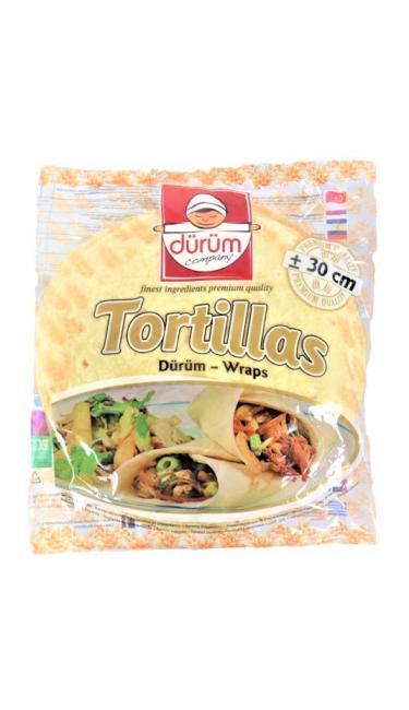 DURUM TORTILLA 30 CM 6'LI 1500 GR (tortillas)