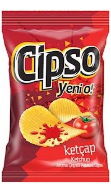 DOGUS CIPSO TIRTIKLI KETCAP 98 GR (chips ketchup)