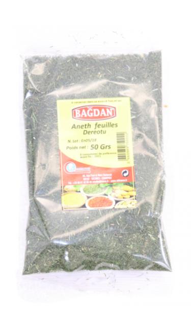 BAGDAN DEREOTU YAPRAGI 50 GR (aneth feuille)