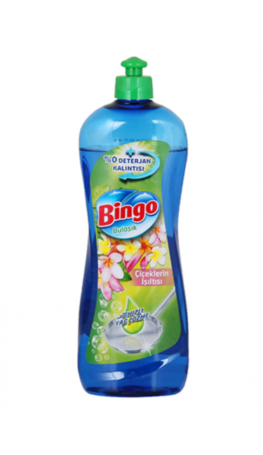BINGO BULASIK DET. CICEK ISILTISI 16X675 ML (liquide vaisselle)