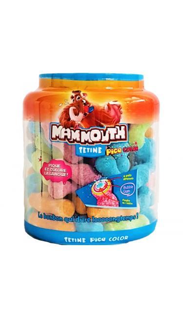 MAMMOUTH ZED RENKLI PUDRALI ( tétine multicolors avec poudre )