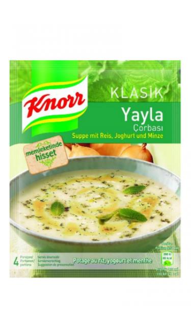 KNORR YAYLA CORBASI 74 GR (potage yaourt-menthe)