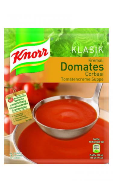 KNORR DOMATES CORBASI (soupes de tomate)