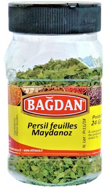BAGDAN MAYDANOZ YAPRAGI PET KAVANOZ 12x24gr (feuilles de persil pot plastique)