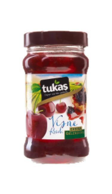 TUKAS RECEL VISNE 320 CC 380 GR (confiture de griottes)