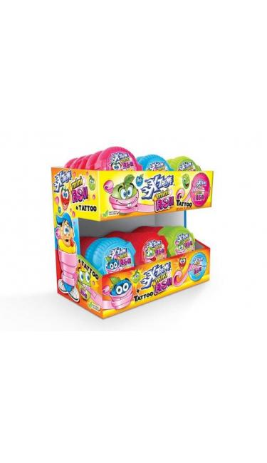 X-TREME MINI TATOO BUBBLE ROLL-GUM (rouleau de chewing-gum)