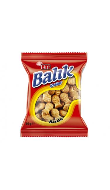 ETI BALIK KRAKER 110 GR (cracker en forme de poisson)