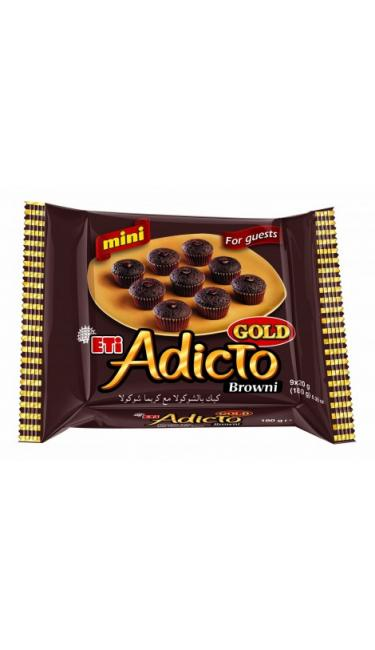 ETI ADICTO GOLD MINI CACAO 180 GR (mini brownies au coeur fondant)