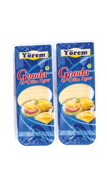 YOREM GOUDA DILIM KASAR 700 GR ( fromage à sandwich en tranche )