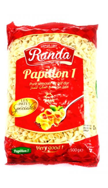 RANDA MAKARNA PAPILLON 1-500 GR (pates)