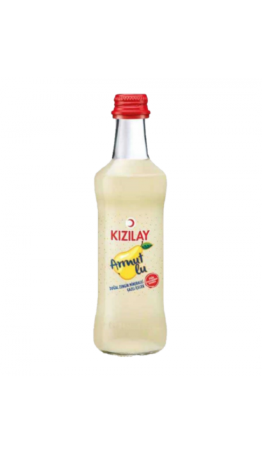 KIZILAY ARMUTLU 250 ML X24 (eau gazeuse aux poires)