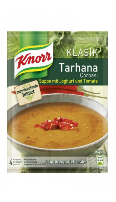 KNORR TARHANA CORBASI 74 GR (soupe de tarhana)