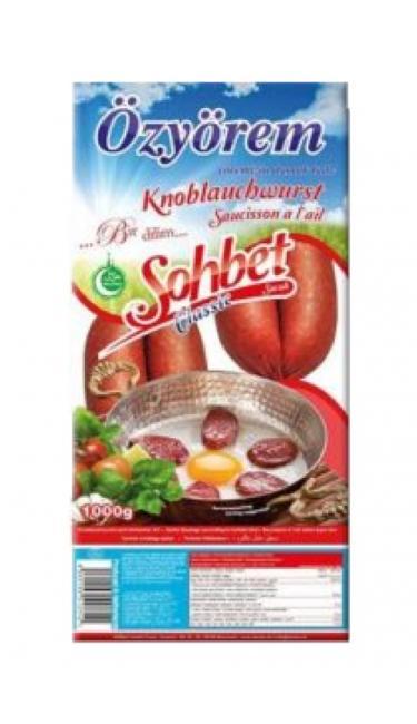SOHBET PARMAK SUCUK 1 KG (saucisson turc)