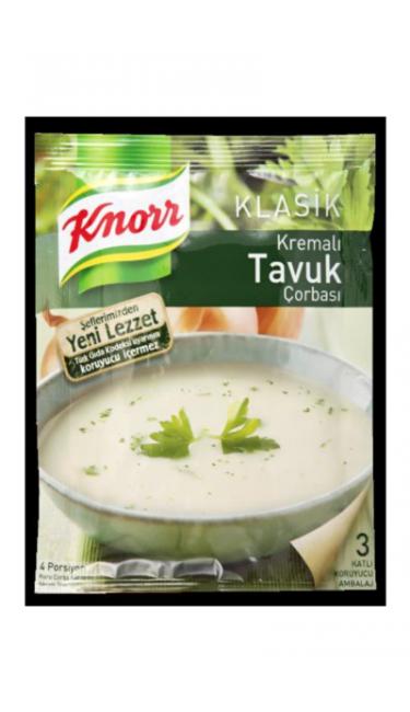 KNORR KREMALI TAVUK CORBASI 65 GR (soupe de poulet a la creme)