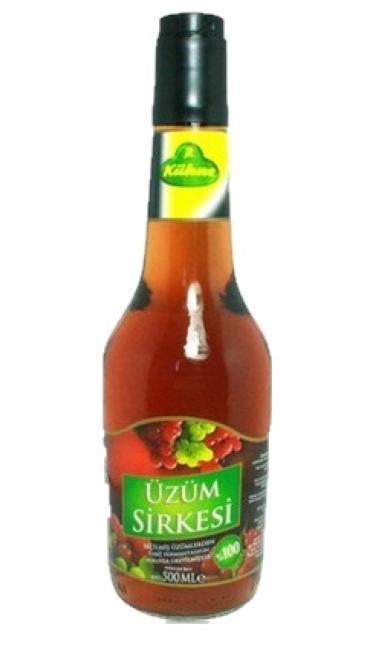 KUHNE SIRKE UZUM 500 CC (vinaigre de raisins)