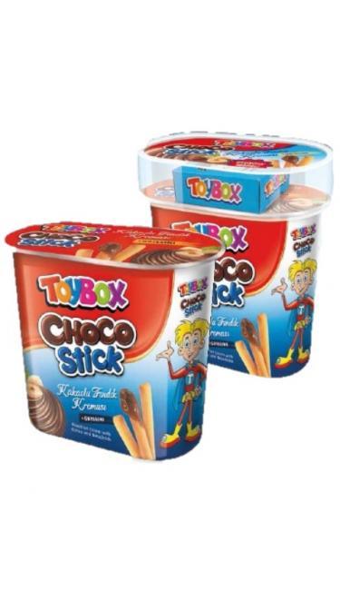 TOYBOX CHOCO STICK 56Gr