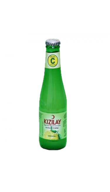 KIZILAY C VITAMINI 200 ML X24 (eau pétillante citron et vitamine C)