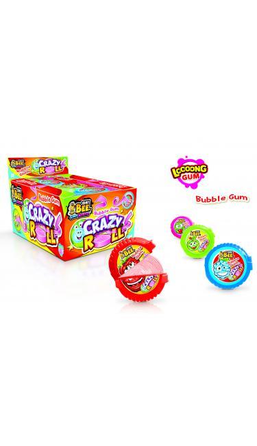 X-TREME CRAZY ROLL METRE SAKIZ YENI (rouleau de chewing-gum)