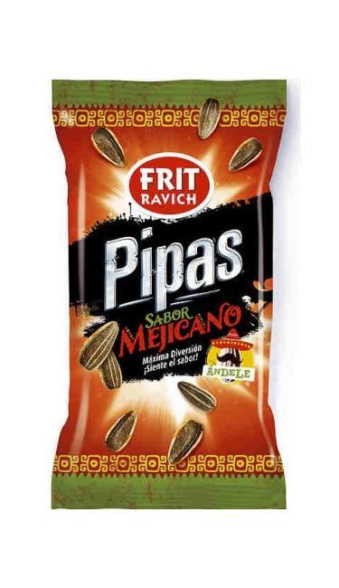 FRIT RAVICH PIPAS MEXICAINE 45 GR (graines de tournesol mexicaine)