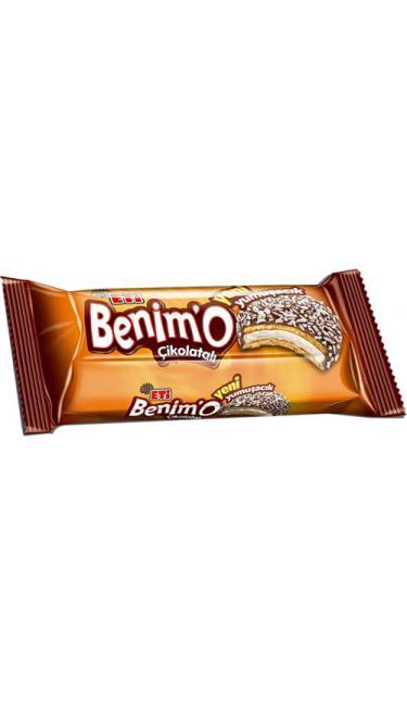 ETI BENIMO (BISCUIT AU CHOCOLAT , MARSHMALLOW ET NOIX DE COCO )