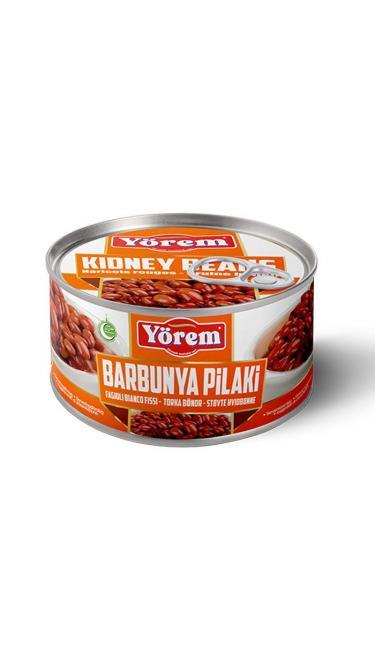 YOREM BARBUNYA PILAKI TNK 12x400G (haricots rose pinta cuit sauce pilaki)