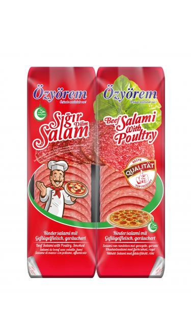 OZYOREM PIZZA SIGIR SALAM 400 GR (tranches de salami veau)