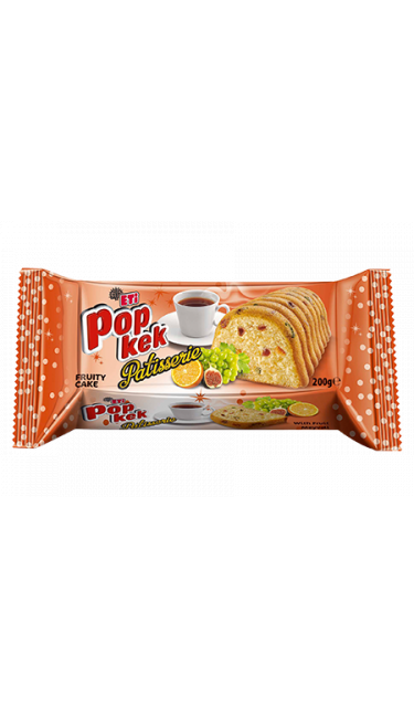 ETI POPKEK  MEYVELI 200 GR (cake aux fruits)