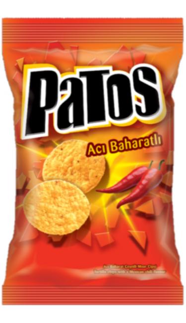 DOGUS PATOS ACI SOSLU 114 GR (chips sauce piquante)