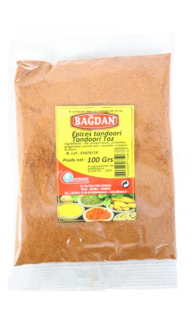 BAGDAN TANDOORI 100 GR (épices tandoori)