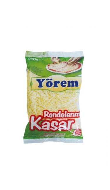 YOREM RENDELENMIS KASAR 200 GR ( fromage rappé 200 gr )