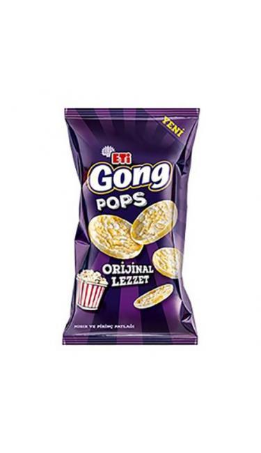 ETI GONG MINI ORGINAL LEZZET 80 GR (riz et maîs souflé)