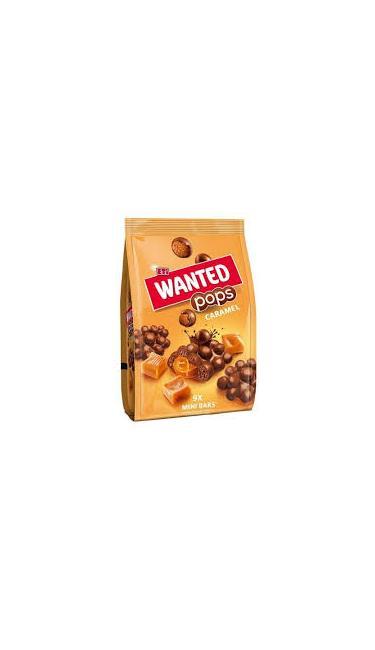 ETI WANTED POPD CARAMEL MINI 126 GR (chocolat soufflée avec coeur fondant au caramel)
