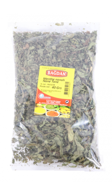 BAGDAN NANE YAPRAGI 40 GR (feuilles de menthe)
