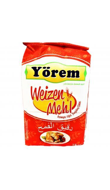 YOREM UN 1KG*10 (farine de blé 1kg*10)