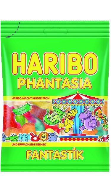 HELAL HARIBO PHANTASIA 100 GR (bonbons gout fruité)