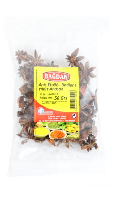 BAGDAN YILDIZ ANASON 50 GR (anis étoilé)