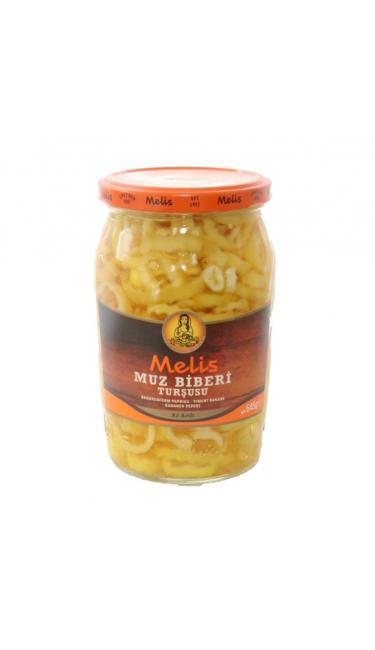 MELIS MUZ BIBERI 720ML(piment banana au vinaigre)