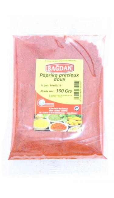BAGDAN KIYILMIS TATLI PUL BIBER 100 GR (paprika doux)
