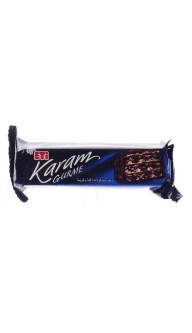 ETI KARAM GURME 50 GR (gaufrette cacao nappée de chocolat noir)