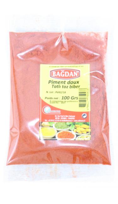BAGDAN TATLI TOZ BIBER 100 GR (piment doux)