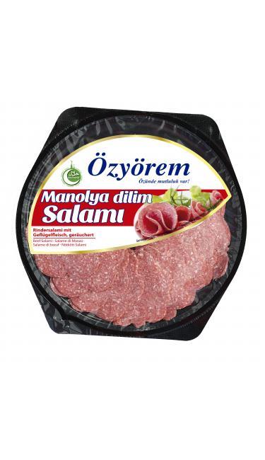OZYOREM MANOLYA DILIM SALAMI 80 GR PROMO (tranches de salami)