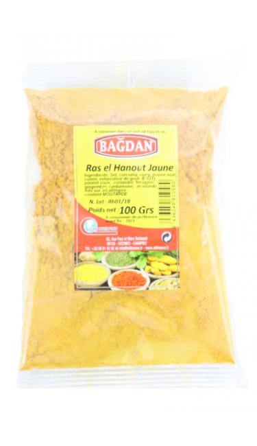 BAGDAN RAS EL HANOUT JAUNE (SARI) 100 GR
