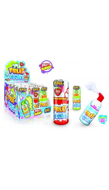 X-TREME JOHNY BEE FRUIT FOAM (bonbon liquide spray gout fruité)