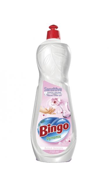 BINGO BULASIK DET. HASSAS ELLER 16X675 ML (liquide vaisselle)