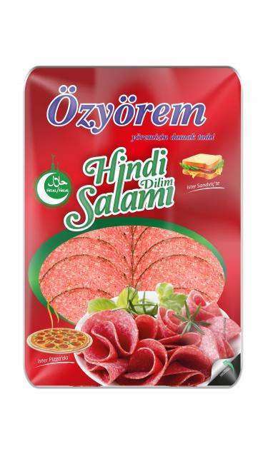 OZYOREM PIZZA HINDI SALAM 400 GR (tranches de salami dinde)