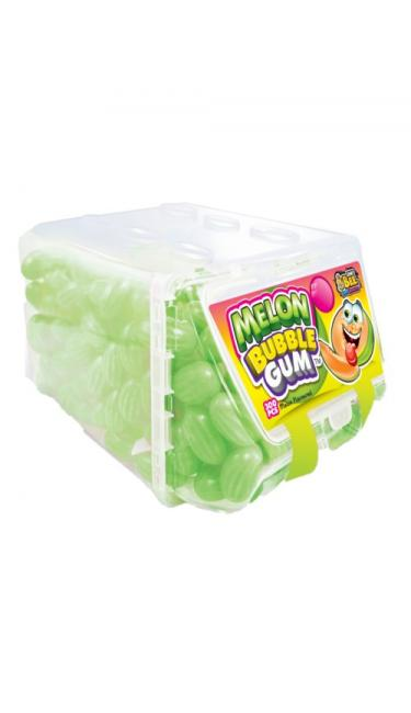X-TREME JOHNY BEE BUBBLE GUM MELONS 300 PCS (boules chewing-gum pastèques)
