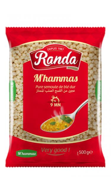 RANDA MAKARNA PLOMB 500 GR (pates M'HAMMAS)